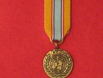 MINIATURE UNITED NATIONS ANGOLA MEDAL UNAVEM MEDAL