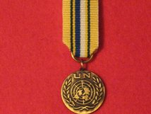 MINIATURE UNITED NATIONS SUDAN MEDAL IMAT MEDAL