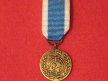 MINIATURE UNITED NATIONS SPECIAL SERVICE MEDAL