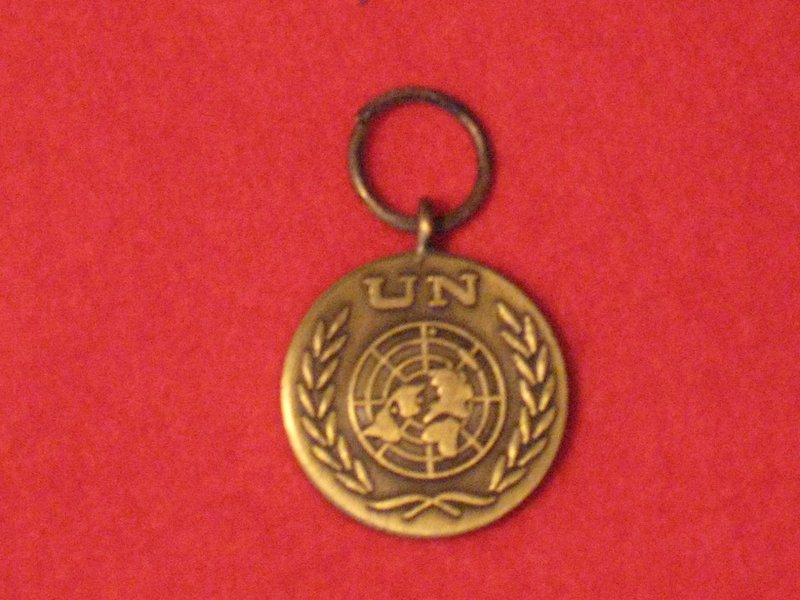 MINIATURE UNITED NATIONS MEDAL NO RIBBON - Hill Military Medals