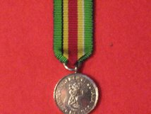 MINIATURE GUYANA INDEPENDENCE MEDAL 1966
