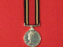 MINIATURE ARMY BEST SHOT MEDAL