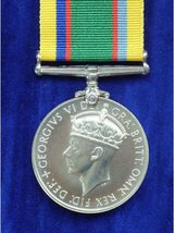 FULL SIZE CADET FORCES MEDAL GVI REPLACEMENT MEDAL