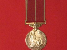 FULL SIZE BRITISH EMPIRE MEDAL BEM MEDAL GV WITH MILITARY RIBBON MUSEUM STANDARD COPY MEDAL