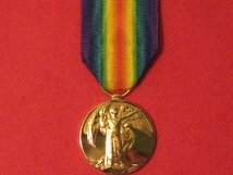 FULL SIZE VICTORY MEDAL WW1 REPLACEMENT MEDAL.