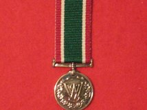 MINIATURE WOMENS ROYAL VOLUNTARY SERVICE MEDAL WRVS WVS MEDAL