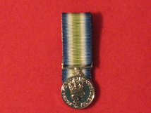 MINIATURE COURT MOUNTED FALKLANDS SOUTH ATLANTIC MEDAL