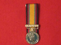 MINIATURE COURT MOUNTED GULF 1990 MEDAL