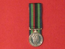 MINIATURE COURT MOUNTED RUC POST 2001 GC RIBBON MEDAL