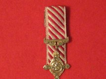 MINIATURE COURT MOUNTED AIR FORCE CROSS AFC MEDAL