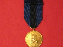 FULL SIZE HAILE SELASSIE CORONATION MEDAL 2ND GOLD GILT MEDAL