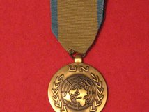 FULL SIZE UNITED NATIONS WESTERN SAHARA MEDAL