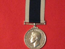 FULL SIZE ROYAL NAVY LSGC MEDAL GVI MSC