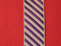 FULL SIZE DFC POST 1919 MEDAL RIBBON
