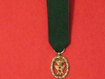MINIATURE VOLUNTEER OFFICERS DECORATION MEDAL QUEEN VICTORIA QV CONTEMPORARY MEDAL