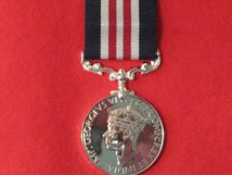 FULL SIZE MILITARY MEDAL MM GVI CROWNED REPLACEMENT MEDAL