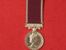 MINIATURE ARMY LSGC MEDAL LONG SERVICE GOOD CONDUCT MEDAL EIIR NEW ZEALAND BAR