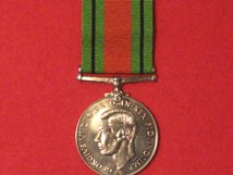 FULL SIZE DEFENCE MEDAL WW2 REPLACEMENT MEDAL