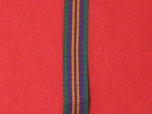 MINIATURE ACCUMULATED CAMPAIGN SERVICE MEDAL POST 2011 MEDAL RIBBON
