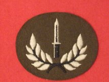 NUMBER 2 DRESS FAD INFANTRY TRAINED BADGE