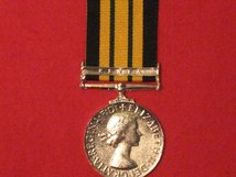 FULL SIZE AFRICA GENERAL SERVICE MEDAL WITH KENYA CLASP MUSEUM STANDARD COPY MEDAL WITH RIBBON