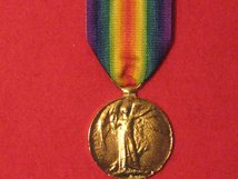 FULL SIZE VICTORY MEDAL WW1 MUSEUM STANDARD COPY MEDAL