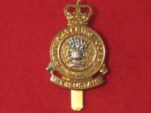 ARMY CATERING CORPS ACC CAP BADGE WITH SCOLL QC