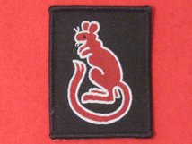 BRITISH ARMY 7TH ARMOURED BRIGADE FORMATION BADGE RED