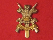 3RD CARABINIERS REGIMENT CAP BADGE