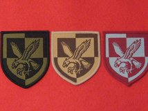 TACTICAL RECOGNITION FLASH BADGES SET OF 3 - 16TH AIR ASSAULT TRF BADGES