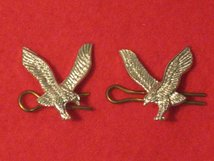 ARMY AIR CORPS AAC MILITARY COLLAR BADGES