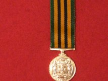 MINIATURE JAMAICA LONG SERVICE GOOD CONDUCT LSGC MEDAL