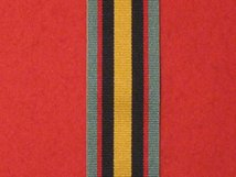 FULL SIZE CANADIAN GULF AND KUWAIT MEDAL RIBBON