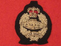 ROYAL TANK REGIMENT RTR OFFICERS BERET BADGE
