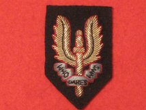 SPECIAL AIR SERVICE SAS OFFICERS BERET BADGE