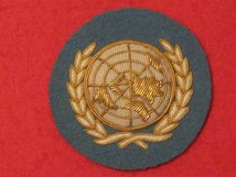 UNITED NATIONS UN OFFICERS BERET BADGE
