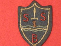SPECIAL BOAT SERVICE SBS BERET BADGE TROOPERS AND O/R'S
