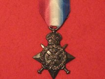 FULL SIZE 1914 STAR MEDAL WW1 MUSEUM STANDARD COPY MEDAL