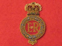 LIFE GUARDS OFFICERS BERET BADGE