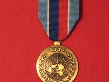 FULL SIZE UNITED NATIONS HAITI MEDAL UNMIH