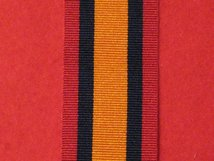 FULL SIZE QUEENS SOUTH AFRICA QSA MEDAL RIBBON