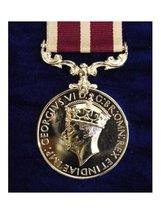 FULL SIZE MERITORIOUS SERVICE MEDAL MSM GVI CROWNED REPLACEMENT MEDAL.