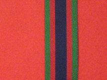 FULL SIZE CANADIAN VOLUNTEER SERVICE MEDAL RIBBON.