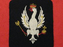 14TH 20TH KINGS HUSSARS BLAZER BADGE