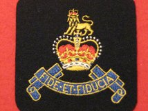 ROYAL ARMY PAY CORPS RAPC REGIMENT BLAZER BADGE