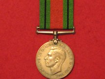 FULL SIZE DEFENCE MEDAL ORIGINAL WW2 MEDAL GVF