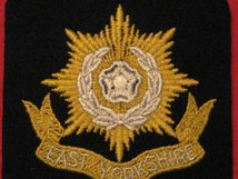 EAST YORKSHIRE REGIMENT BLAZER BADGE