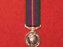 MINIATURE ACCUMULATED CAMPAIGN SERVICE MEDAL PRE 2011 MEDAL