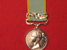 FULL SIZE CRIMEA MEDAL WITH BALAKLAVA CLASP MSC
