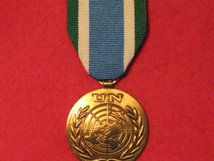 FULL SIZE UNITED NATIONS MOZAMBIQUE MEDAL